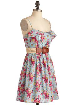 A pretty country dress