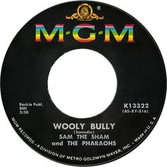 Wooly Bully - Sam The Sham and The Pharaohs Fun Songs, Songs To Sing, Love Songs, Home Music, 70s Music, Music Radio, Old Records, Vinyl Records, Arduino
