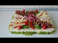 Slaná torta č.1 (Salty cake) - YouTube Tasty Videos, Salty Foods, Cake Youtube, Salty Cake, Avocado Toast, Waffles, Salsa, Cooking, Breakfast