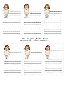 Free printable journal cards by sweetly scrapped