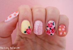 Flirty Girl Nails~ for the Granddaughters