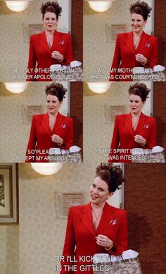 Oh how I miss Will & Grace (because of Karen & Jack).....