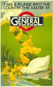 London Transport poster, 1929