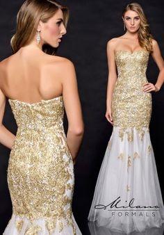 Gorgeous Mermaid Milano Formals Prom Dress E1738