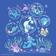 Bubble Popp By Sarah Richford, today at The Yetee!