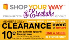 *HOT* $0.10 Clearance Sale at Kmart