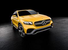 Mercedes Concept GLC Coupe #mercedes