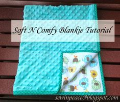 Baby Boy Quilts Patterns Soft N Comfy Blankie Tutorial Quick And Easy Baby Quilt Includes Instruction Baby Quilt Kits To Sew Pinterest Baby Quilts Patterns