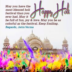Write your name on Unique Awesome Happy Holi Images picture in beautiful style. Best app to write names on beautiful collection of Happy Holi Wishes pix. Personalize your name in a simple fast way. You will really enjoy it.