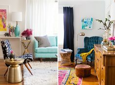 bri emery living room and emily henderson bedroom