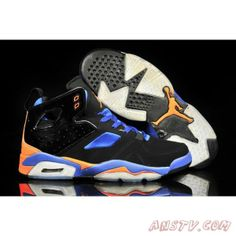 sports shoes f86f5 b8faa Air Jordan Homme Air Jordan FLTCLB 91 Hommes Noir Bleu Orange Air Jordan  Vi, Nike