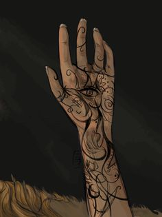 Feyre's tattoo by jessdoodlesthings, I really love this one