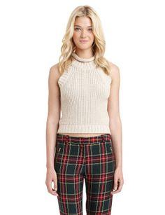 #SAMEDELMAN Cropped Turtleneck Sweater