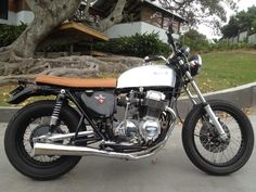 CB750 with Motorcycle Seats Direct Seat