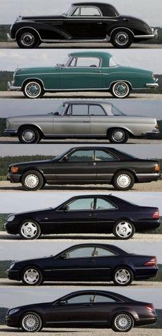 Mercedes evolution