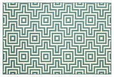 Myrtos Outdoor Rug, Blue | 40.00 to 720.00 retail | Wilton weave polypropylene