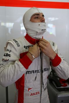 Round 3, UBS Chinese Grand Prix 2013, Practice, Jules Bianchi, Driver, Marussia F1 Team