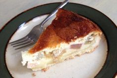 German Rhubarb Cream Cake – From South Germany