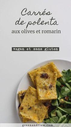 Voilà une nouvelle recette végétale toute simple : de la polenta rapide à faire aux jolies saveurs d'été et de sud de la france