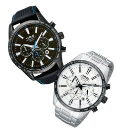 Splurge and spoil with these Lorus watches