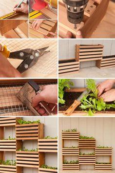 Beautiful DIY Vertical Garden Ideas