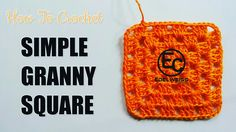How to Crochet Basic / Simple Granny Square https://youtu.be/yj7f4llKoh4
