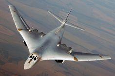 Tu-160 Blackjack Soviet strategic bomber