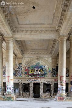 Michigan Central Station in Detroit, MI detroit photographer michigan central station mcs 6