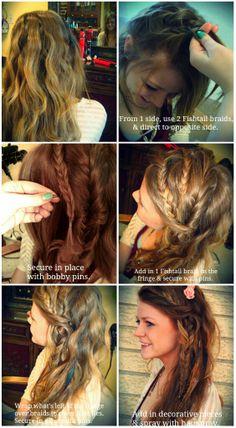 Kristen_Edsell3 #festivalhair #hairtutorial #coachellahair #sexyahir #howto #DYI #Concerthair