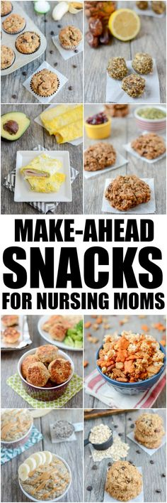 These Make-Ahead Snacks For Breastfeeding Moms are easy, healthy recipes to help keep your body fueled and energized while nursing. ahead snacks, Make-Ahead Snacks For Breastfeeding Moms Breastfeeding Snacks, Breastfeeding Smoothie, Dieting While Breastfeeding, Breastfeeding Bottles, Healthy Snacks, Healthy Recipes, Healthy Pregnancy Recipes, Pregnancy Foods, Apple Recipes