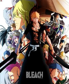 Bleach is based off the manga series of the same name by Tite Kubo which consists of 366 episodes that aired from 2004 - 2012. Description from aminoapps.com. I searched for this on bing.com/images