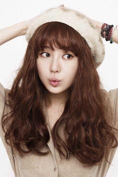 Yoon Eun-hye (윤은혜) - Picture @ HanCinema :: The Korean Movie and Drama Database Yoon Eun Hye, Korean Bangs Hairstyle, Hairstyles With Bangs, Girl Hairstyles, Korean Actresses, Korean Actors, Actors & Actresses, Korean Girl, Asian Girl