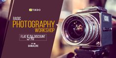 Wanna become a pro at photography? Get Basic and Advanced photography lessons with Perfect Frames.  Book your tix now at tixdo.com and get FLAT 5% OFF!   #Photography #PerfectFRames #Photographyforlife #Professionallessons Advanced Photography, Photography Lessons, Photography Workshops, Celebrations, How To Become, Frames, Events, Flat, Book
