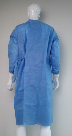 Surgical gown reinforced is a long loose piece of coats worn by surgeons during hospital surgery, ultra fabric used in the reinforced impermeable sleeves and chest area Medical Uniforms, Hospital Uniforms, Medical Scrubs, Hospital Gowns, Piece Of Clothing, Different Fabrics, Green Dress, One Piece, How To Wear