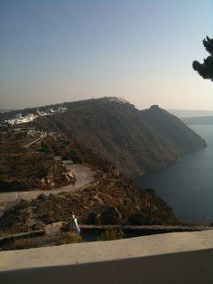 Breathtaking view at Imerovigli, Santorini island