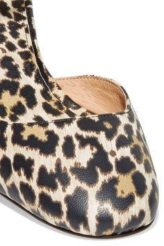 J.Crew - Evelyn Leopard-print Leather Pumps - Leopard print - US8.5