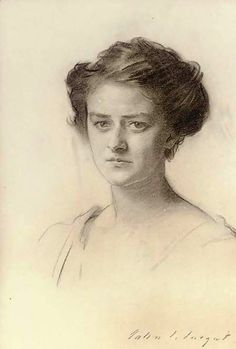 Julie Chaplain - by John Singer Sargent