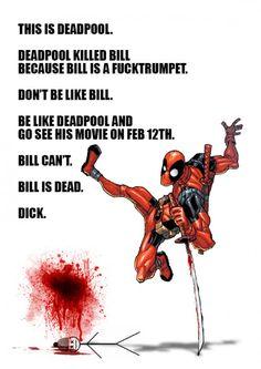 Deadpool killed Bill