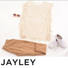 Complete your summer outfits with us at JAYLEY with are AMAZING linen and  Crochet!  www.jayley.com #summer #fashion #luxury #JAYLEY #women #style #art #design