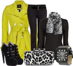 """""""Yellow!"""" by mharvey on Polyvore"""