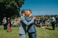 Outdoor And Country, Festival Wedding, Filming Locations, Gay Couple, Alternative Wedding, Surrey, Rustic Wedding, Wedding Ceremony, Toms