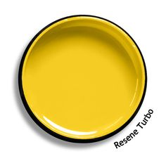 Resene Turbo is a full strength speedy energetic yellow, bold and a favourite with young and old. From the Resene BS5252 colour collection. Try a Resene testpot or view a physical sample at your Resene ColorShop or Reseller before making your final colour choice. www.resene.co.nz