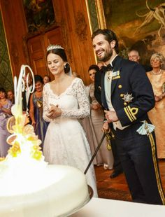 Prince Carl Philip and Princess Sofia