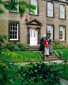 The Bronte Parsonage Museum in Haworth, Yorkshire, UK