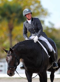 Jennifer Baumert shares tips for riding a collected canter.