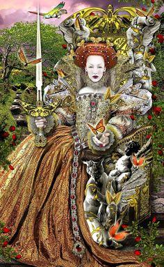 Queen of Swords - Tarot Illuminati