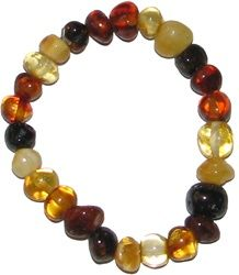 Chakra Combo Certified Genuine Baltic Amber Raw Amber Necklace and Amber Bracelet Gift Set Alternative Natural Pain Relief Properties