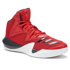 new product 672e0 1b787 Adidas Crazy Team 2017 Mens Basketball Shoes, Size 11.5, Med Red Mens  Basketball