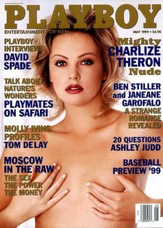 Charlize Theron in Playboy May 1999