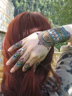 How to Henna Your Hair...an alternative to chemical hair dyes.